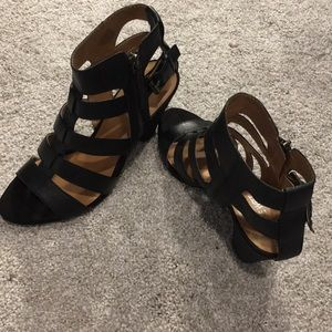 Nine West gladiator heels